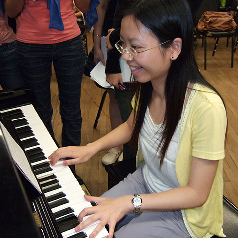 I Just Tried Out Different Chords - Hong Kong Pop Piano Academy